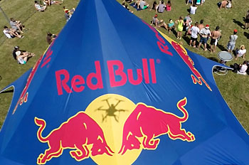 Red Bull Stage. Festival Rock For People 2014.
